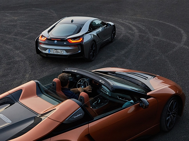 Нові BMW i8 Roadster та BMW i8 Coupe