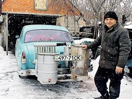 У центрі Полтави зіштовхнулися «Таврія» та інкасаторський мікроавтобус